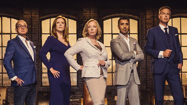 DrivenMedia on Dragons Den