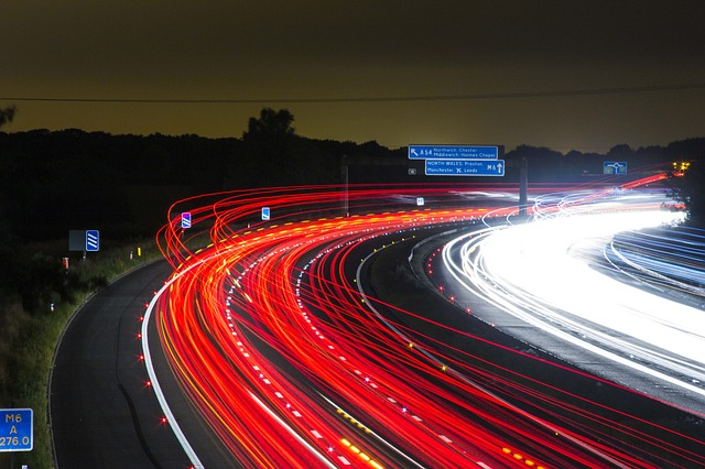 Image of a Motorway at dusk