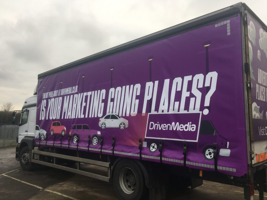 DrivenMedia's Branded Lorry
