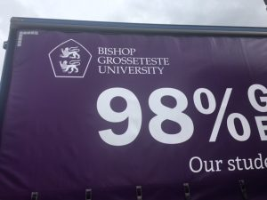Bishop Grosseteste University Logo View
