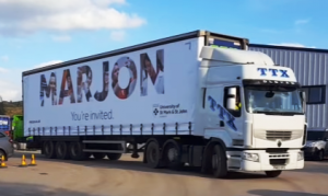 MARJON Truck Advertising Campaign