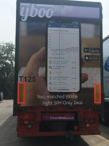 Yboo Truck Advertising Campaign