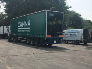Canna Truck Advertising Overview