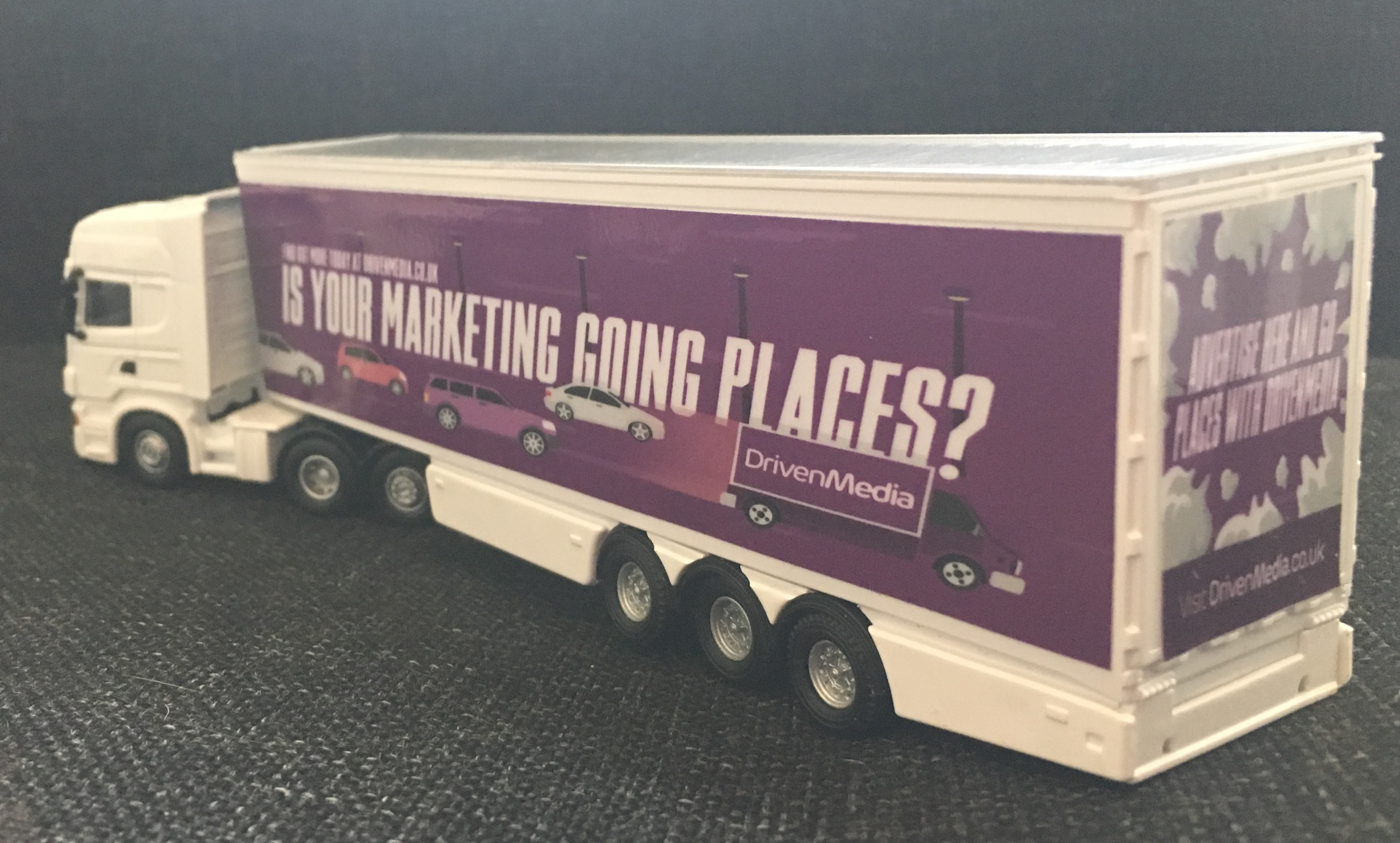 1:76 Scale truck advertising campaign