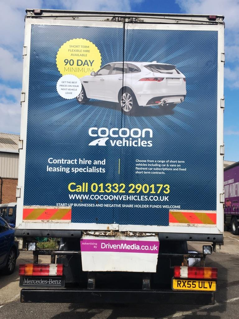 Cocoon Vehciles Truck Advertising Campaign
