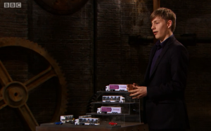 Ed on Dragons Den