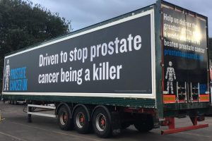 Prostate Cancer Truck Advertising Campaign