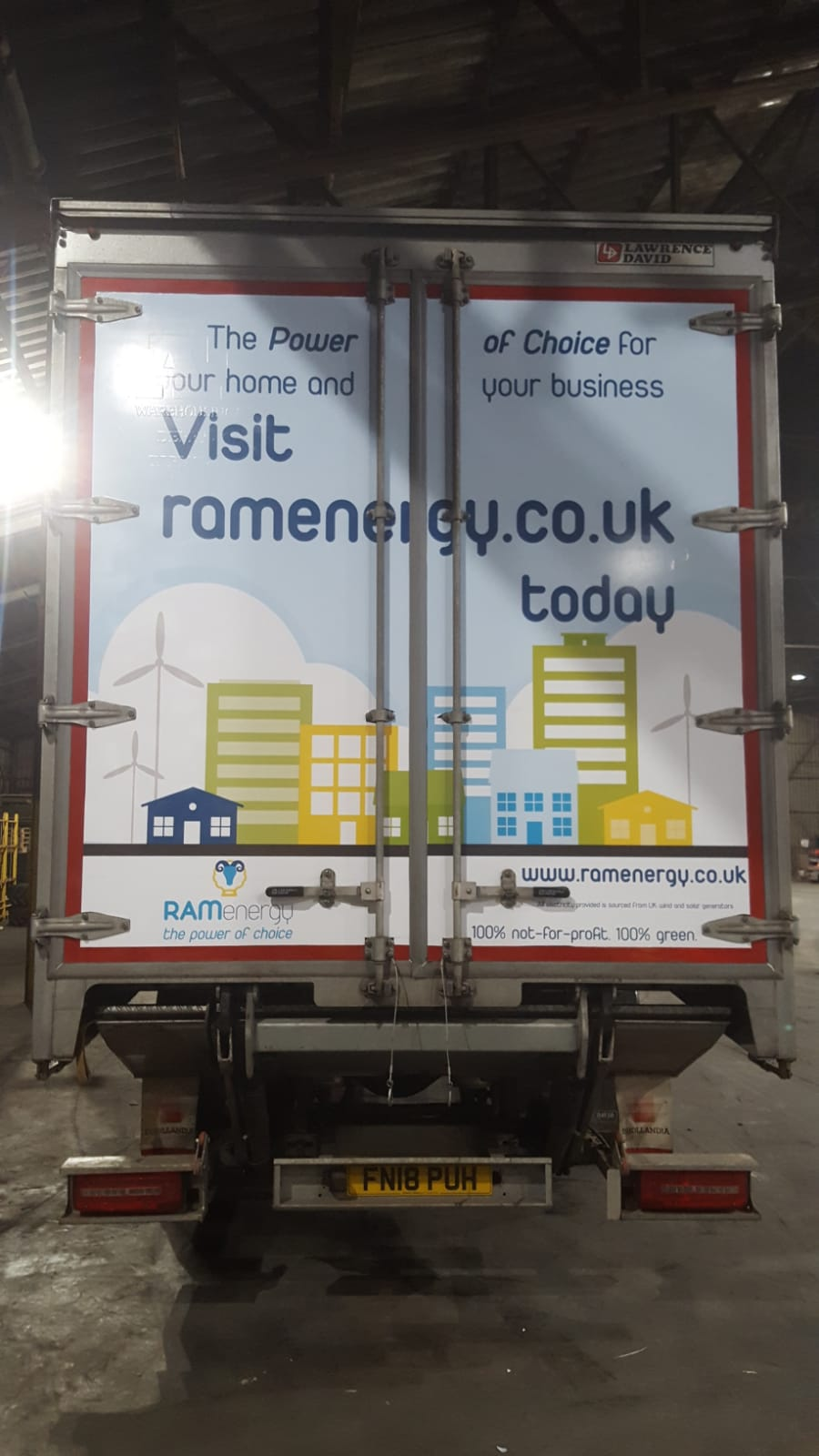First Look at Ram Energy's truck advertising campaign
