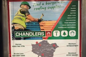 Chandlers Roofing Truck Advertising Campaign