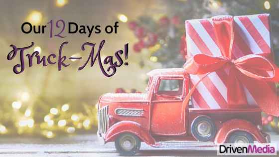 Title of the Blog post 12 days of truck mas