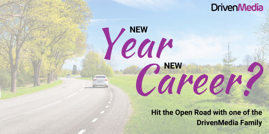 blog post cover - new year new career - consider HGV Class1 driving jobs in 2020
