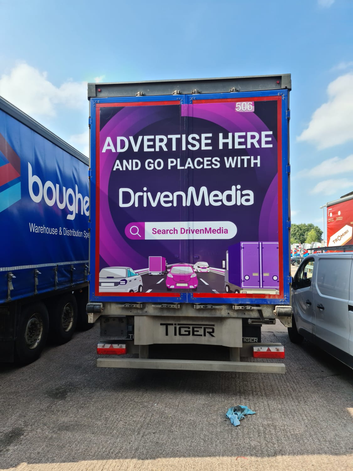 DrivenMedia Hit's the road